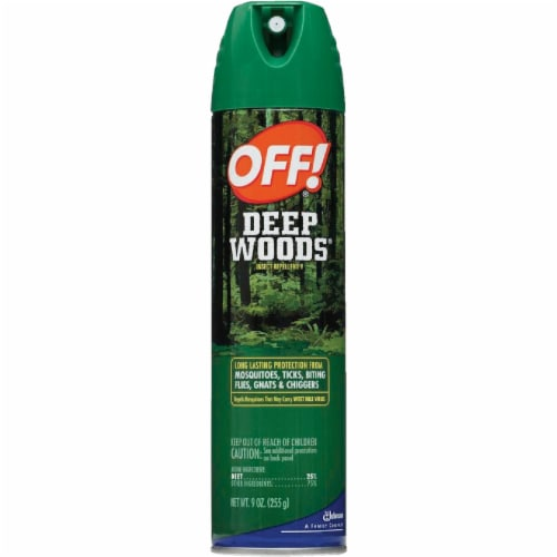 Off!® Deep Woods Insect Repellent Aerosol Spray Perspective: front
