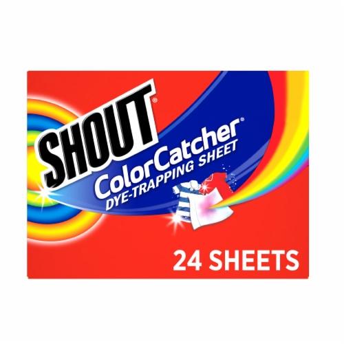 Shout Color Catcher Sheets Perspective: front