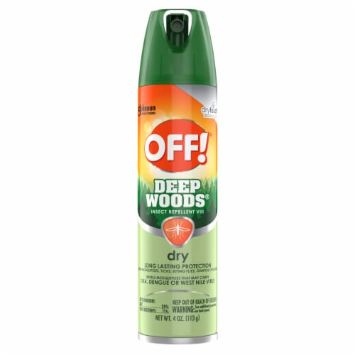 Off!® Deep Woods Dry Insect Repellent Spray Perspective: front