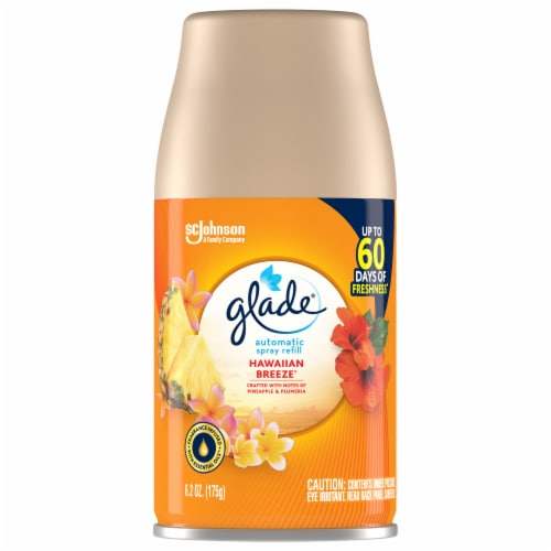 Glade Automatic Spray Hawaiian Breeze Refill Perspective: front