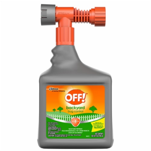 Off!® Bug Control Backyard Pretreat Insecticide Perspective: front