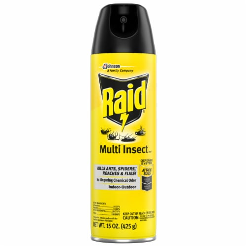 Raid® Multi Insect Killer Perspective: front