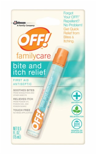 OFF! Bite Relief Liquid For Variety of Insects 0.5 oz. - Case Of: 12; Perspective: front
