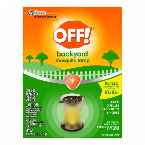 Off!® Backyard Mosquito Lamp Perspective: front