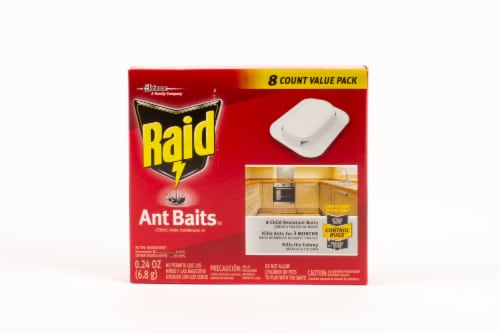 Raid® Ant Baits Perspective: front