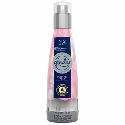 Glade Atmosphere Fine Fragrance Mist No. 2 Bright: Sweet Pea & Pear Perspective: front