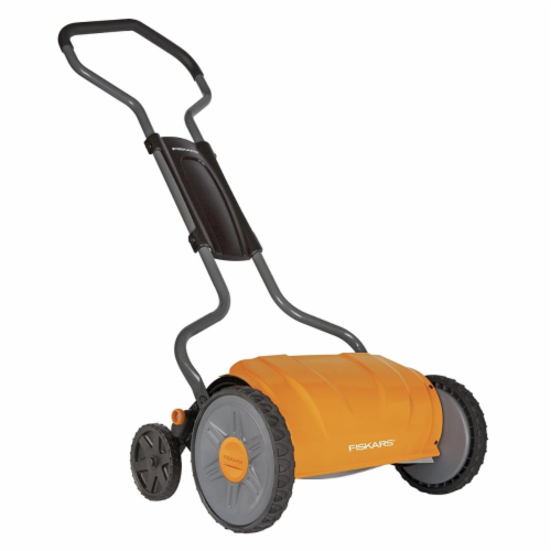 Fiskars 22 in. Manual Lawn Mower - Case Of: 1; Perspective: front