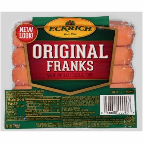 Eckrich Original Franks Perspective: front