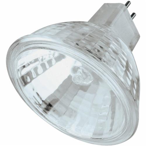 Philips 50-Watt GU5.3 Base MR16 Halogen Indoor Spot Light Bulb Perspective: front