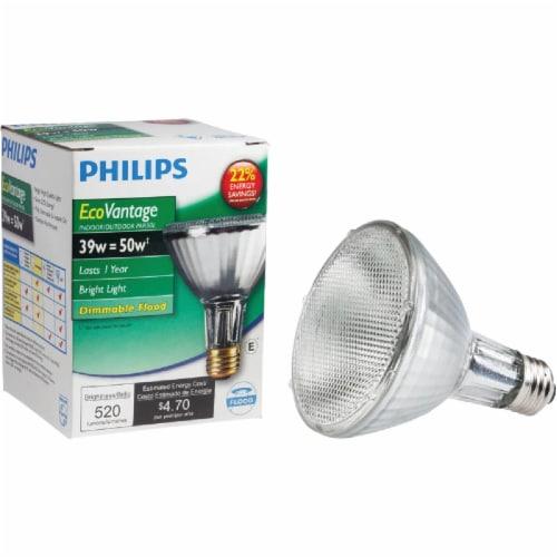 Philips 39w Par30 Ln Flood Bulb 419747 Perspective: front