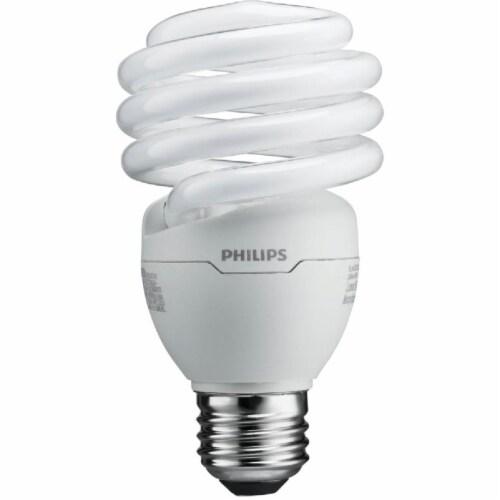 Philips EnergySaver 23-Watt (100-Watt) Medium Base CFL Light Bulbs Perspective: front