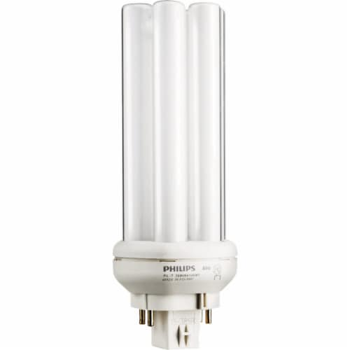 Philips 100W Equivalent Cool White GX24Q-3 Base PL-T CFL Light Bulb 458463 Perspective: front