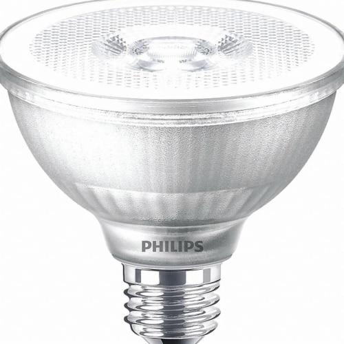 Philips LED Bulb,PAR30S,2700K,800 lm,10W  529792 Perspective: front