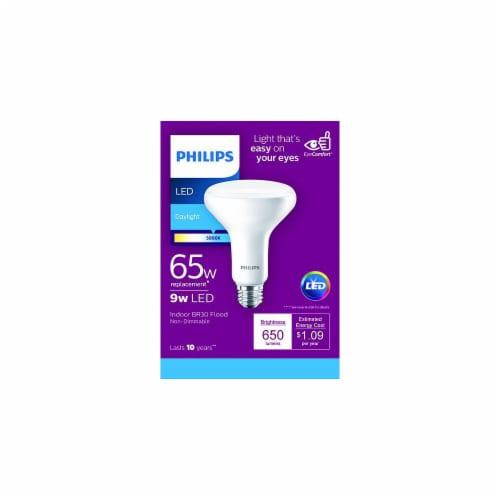 Philips 9-Watt (65-Watt) Indoor BR30 LED Floodlight Bulb Perspective: front