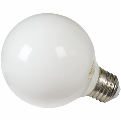 Philips 3.8-Watt (40-Watt) Medium Base Globe G25 LED Light Bulbs Perspective: front