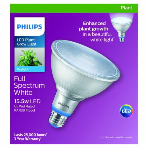Philips 15.5-Watt LED Plant Grow Light Bulb Perspective: front