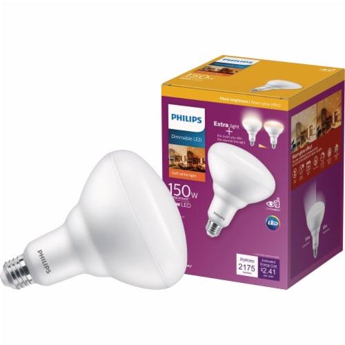Philips 20-Watt (150-Watt) BR40 Flood LED Light Bulb Perspective: front