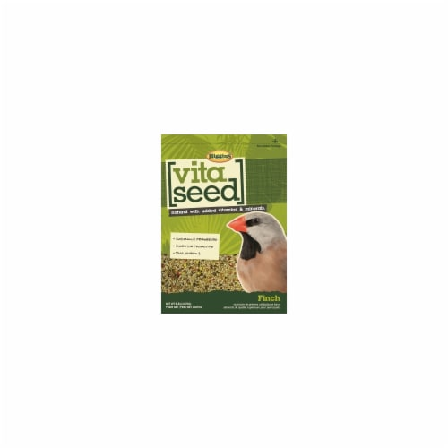 Higgins Pet Food HS21027 Vita Seed For Finch - 5 lbs. Perspective: front