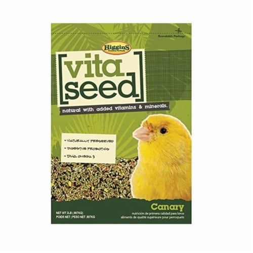 Higgins Pet Food HS21035 Vita Seed For Canary - 2 lbs. Perspective: front