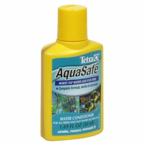 Tetra Aquasafe Water Conditioner Perspective: front