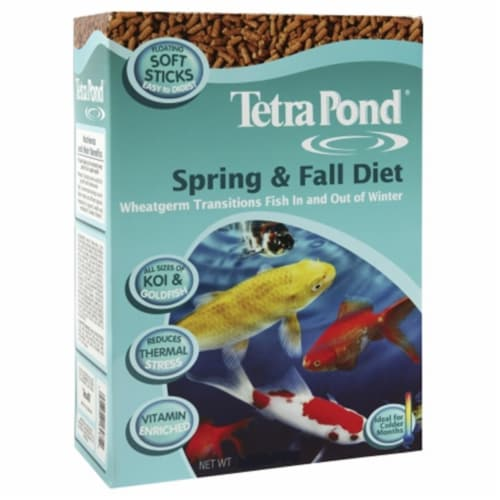 Tetra Pond s Spring & Fall Diet Pond Fish Food  16469 - Pack of 6 Perspective: front