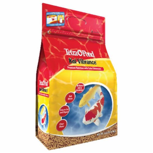 Tetra Pond 2.4 Koi Vibrance Pond Fish Food  16485 - Pack of 6 Perspective: front