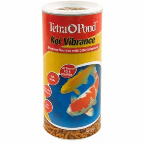 Tetra Pond 8.27 Lb Koi Vibrance Pond Fish Food  16491 - Pack of 2 Perspective: front