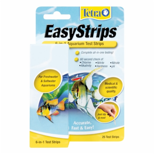 Tetra Easy 6-in-1 Test Strips Perspective: front