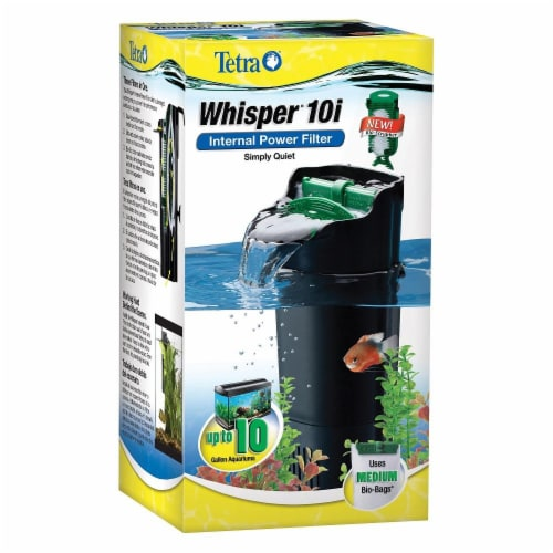 """Tetra Whisper In Tank Filter 10"""" With Bio Scrubber Perspective: front"""