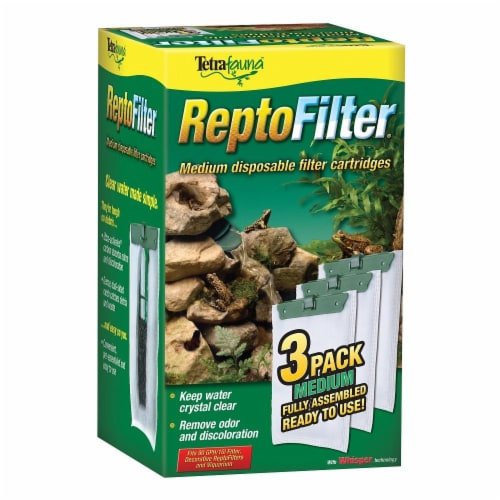 Tetra ReptoFilter Disposable Filter Perspective: front