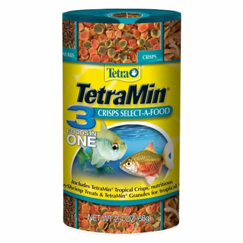 TetraMin 3-in-1 Tropical Fish Food Perspective: front