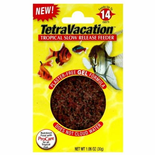 Tetra TetraVacation Tropical Slow Release Feeder Perspective: front