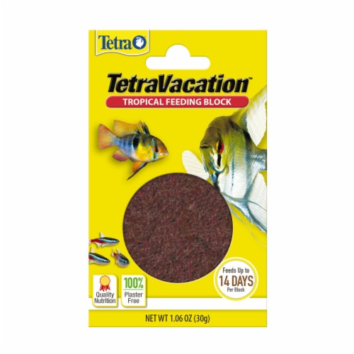 Tetra Vacation Slow-Release Tropical Feeding Block Perspective: front