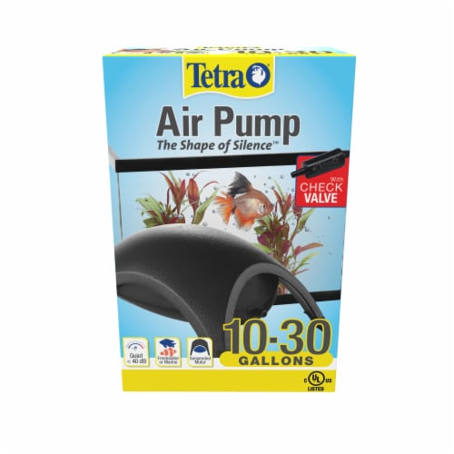 Tetra Air Pump with Check Valve Perspective: front