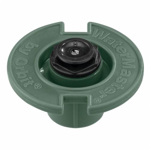 Orbit Half Circle 1/2 In. FPT Plastic Flush Head 54006D Perspective: front