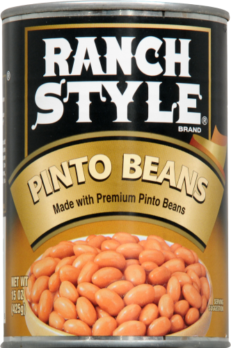 Ranch Style Pinto Beans Perspective: front