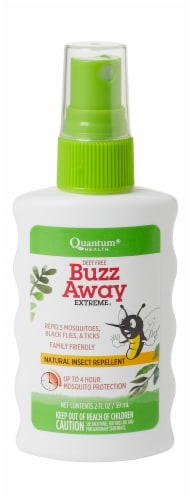 Quantum Health Buzz Away Extreme Repellent Perspective: front