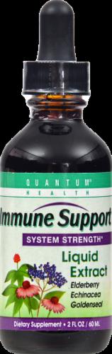 Quantum Health Immune Support Liquid Extract Perspective: front