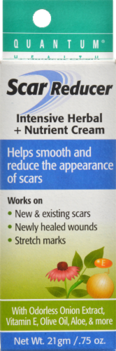 Quantum Health Scar Reducer Intensive Herbal & Nutrient Cream Perspective: front