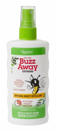 Quantum Health Buzz Away Extreme Insect Repellent Spray Perspective: front