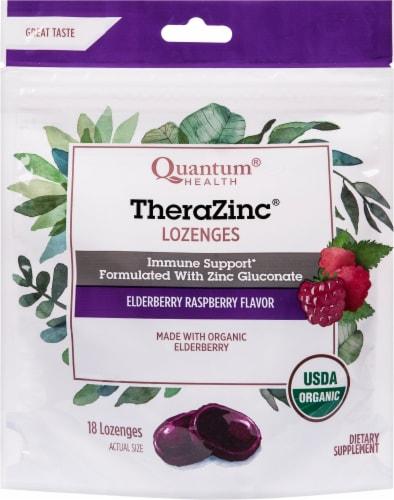 Quantum Health TheraZinc Lozenges Perspective: front