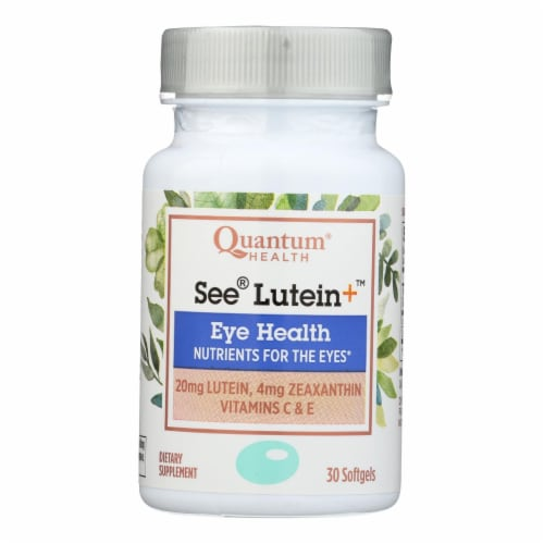 Quantum Health See Lutein Eye Health Softgels Perspective: front