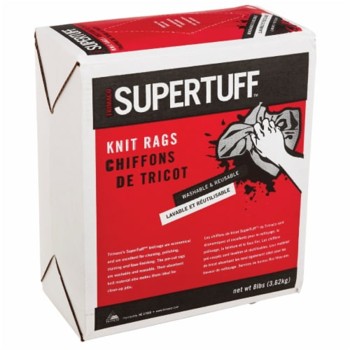 Trimaco SuperTuff 8 Lb. Knit Painter's Rags 10482 Perspective: front