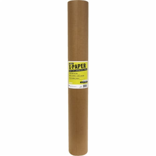 X-Paper Floor Protection Paper,Brown,120 ft. L  12360/20 Perspective: front