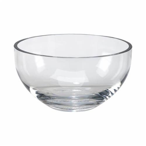Creative Gifts International 060506 9.75 in. dia Simon Optic Crystal Salad Bowl Perspective: front