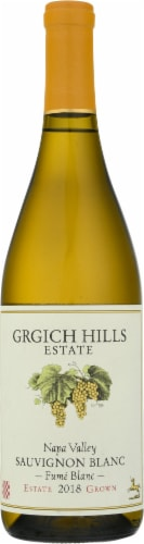 Grgich Hills Fume Blanc White Wine Perspective: front
