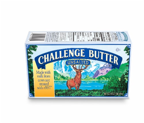 Challenge Unsalted Butter Perspective: front