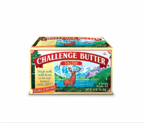 Challenge Salted Butter Perspective: front