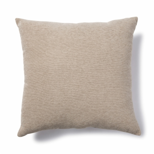 Brentwood Crown Chenille Linen Oversized Decor Pillow Perspective: front