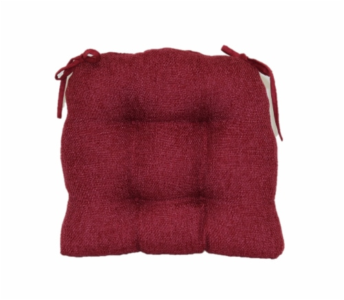 Brentwood Originals Jasper Chair Pad - Burgundy Perspective: front